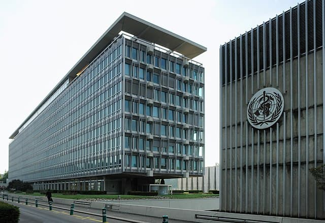 WHO Headquarters © Yann Forget / Wikimedia Commons / CC-BY-SA.