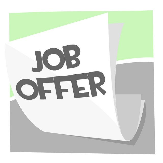 Job Offer by https://www.flickr.com/photos/130100316@N04/