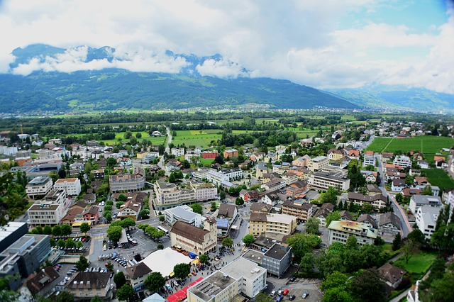 Liechtenstein via https://pixabay.com/en/liechtenstein-city-architecture-176116/