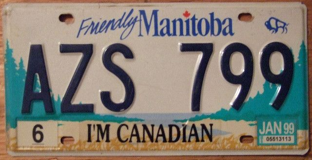 Manitoba License Plate by https://www.flickr.com/photos/woodysworld1778/