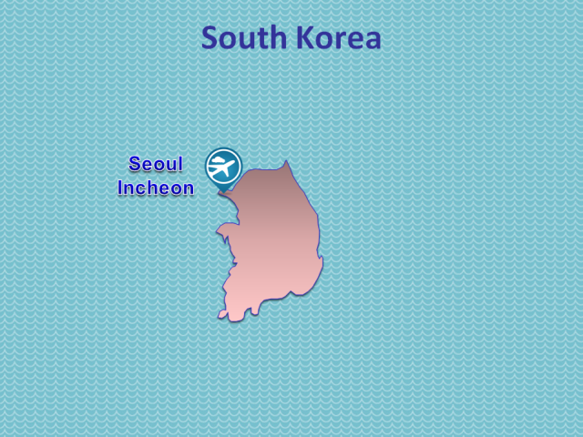 TWOV Participating Airports in South Korea