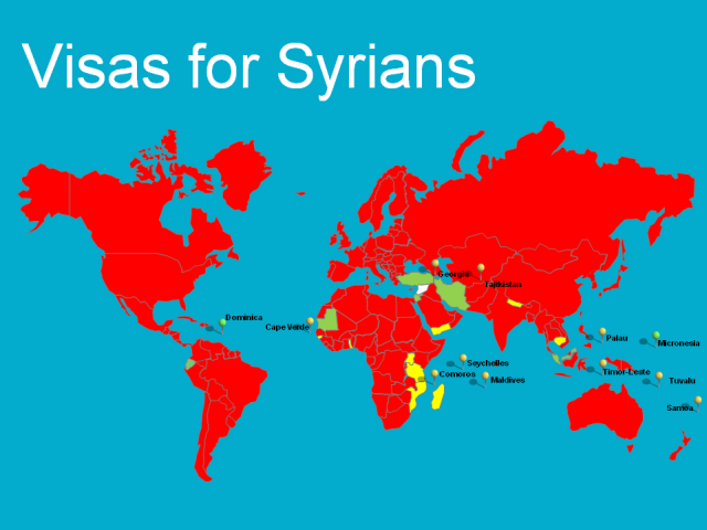 Visas for Syrians