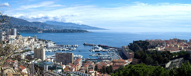 Monaco via https://pixabay.com/en/monaco-mediterranean-the-scenery-740674/