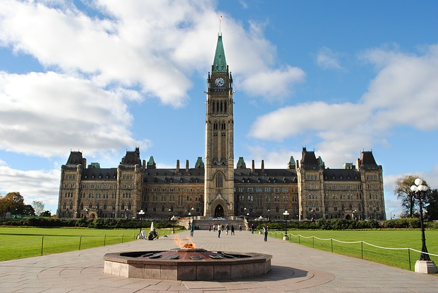Canada's Parliament Buildings via https://pixabay.com/en/ottawa-parliament-canada-government-815375/