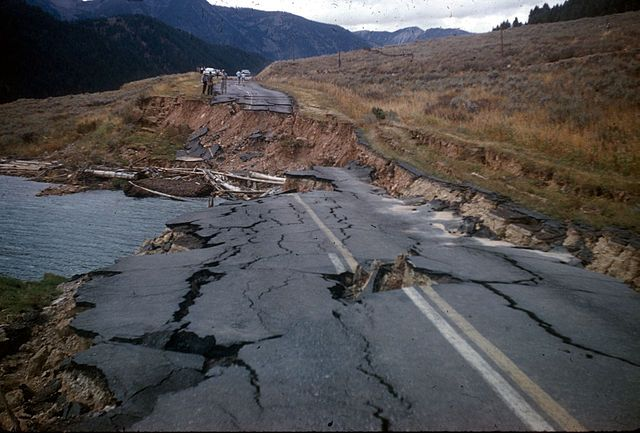 Rocky Mountain Earthquake [Public Domain]