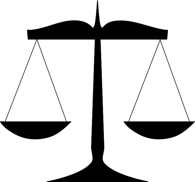 Scales via https://pixabay.com/en/scales-law-justice-balance-weight-303434/