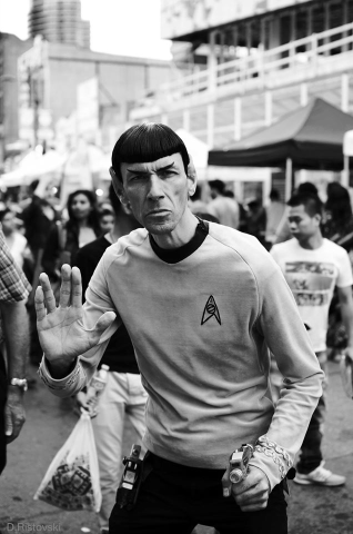 Spock in Toronto by David Ristovski