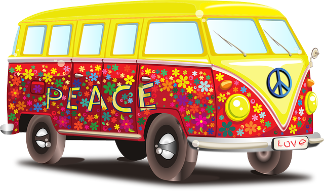 Volkswagen bus via https://pixabay.com/vectors/volkswagen-car-bus-mobile-home-158463/