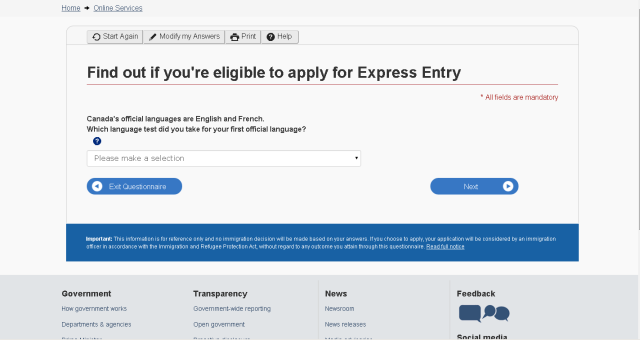 Find Out if You Are Eligible for Express Entry
