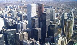 Skyline of Toronto via https://commons.wikimedia.org/wiki/File:Skyline_Toronto.JPG