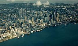 Seattle By Dcoetzee (Own work) [Public domain], via Wikimedia Commons