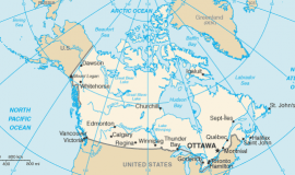 Map of Canada [Public Domain]
