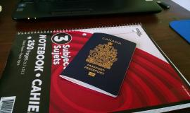 Canadian Passport used by permission