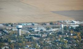 Town in Saskatchewan By Ktownsk (Own work) [Public domain], via Wikimedia Commons