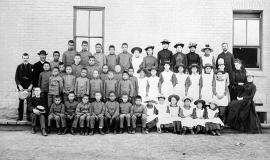 Residential School See page for author [Public domain or Public domain], via Wikimedia Commons