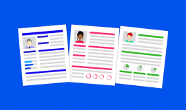 Resumes via https://pixabay.com/illustrations/career-resume-hiring-job-interview-3449422/