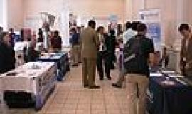 Job Fair By carmichaellibrary (Career Fair  Uploaded by AlbertHerring) [CC-BY-2.0 (http://creativecommons.org/licenses/by/2.0)], via Wikimedia Commons