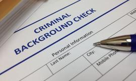 Criminal Record Check via https://pixabay.com/en/background-check-document-security-1054067/