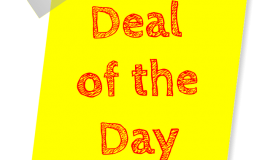 Deal of the day via https://pixabay.com/en/deal-of-the-day-deal-sale-special-1438905/q