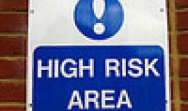 High Risk Area by https://www.flickr.com/photos/howardlake/