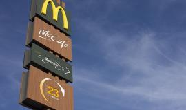 McDonald's sign via https://pixabay.com/photos/mcdonalds-redaktionel-chain-1340199/