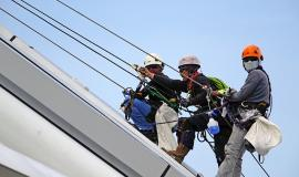 Rappelling via https://pixabay.com/en/rappelling-rope-safety-security-755399/