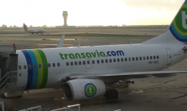 Transavia Plane on Tarmac