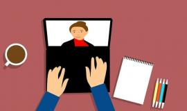 Video Conferencing via https://pixabay.com/illustrations/webinar-conferencing-video-beverage-3199164/